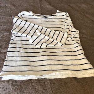 GAP Long sleeve stripe tee